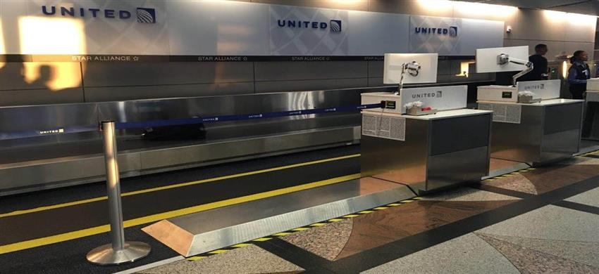 Division Systems Airport Baggage Scales Cargo Scales And Self Tagging Kiosk Scales